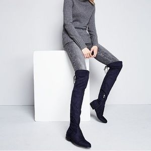 4b10d7788ea Marc Fisher black over the knee boots